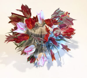 FitzSimonds, Tulipe a' Giverny, altered book-web